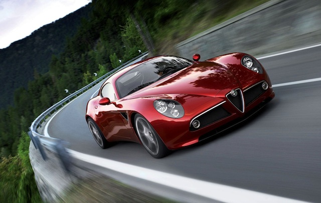 Luxury car rental in italy