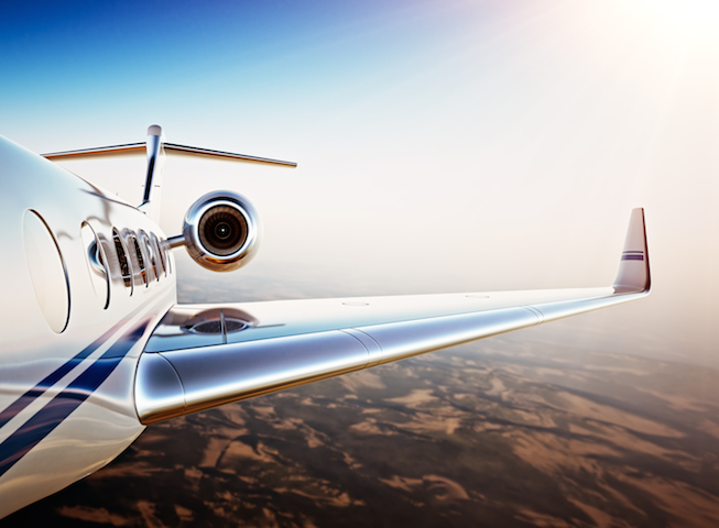 Private jet rental